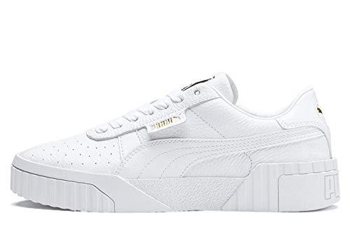 PUMA Cali WNS, Zapatillas para Mujer, Blanco White White, 41 EU