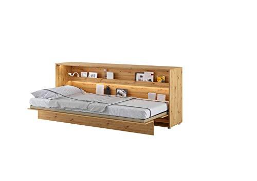 LENART Bed Concept - Cama plegable horizontal (90 x 200 cm), color...