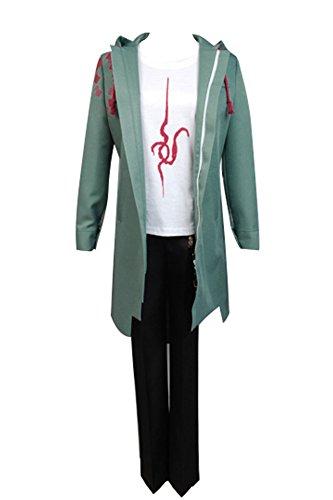 Super Danganronpa 2 Ronpa Nagito Komaeda Cosplay Kostüm Dust Trench Mantel Jacke Herren S