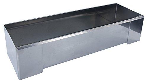 Lily cook KP5344 Moule à bûche carré, INOX, Argent, 30,5 x 10 x 7,3 cm