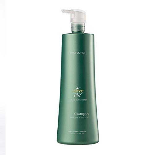 Olive Oil Shampoo - Regis DESIGNLINE - Fortified with Olive Oil and Rich in Vitamins E and K to Help...