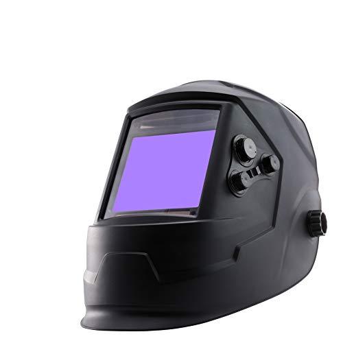 Sfeomi Solar Powered Lithium Battery Welding Helmet 4 Premium Sensors True Color Digital Control...