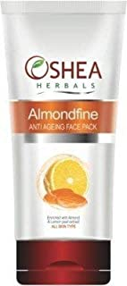 Almondfine Anti Ageing Face Pack, White, 120 g