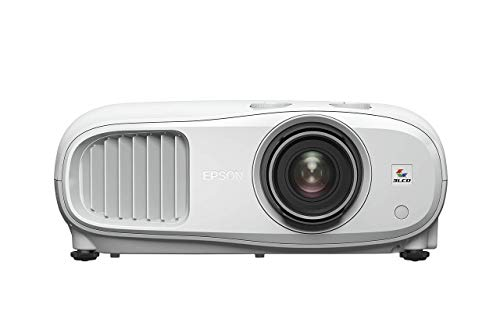 Epson EH-TW7000 3LCD, 4K PRO-UHD, 3000 Lumens, 500 Inch Display, Home Cinema, Streaming and Gaming Projector - White