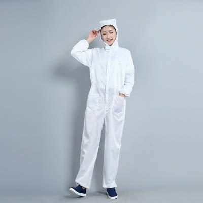 Antistatische Arbeitskleidung, Reinraum, staubdichte Kleidung, saubere Kleidung, staubdichte Arbeitskleidung, Unisex-Arbeitsschutzkleidung Asia Größe L.