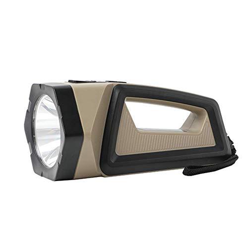 Antorcha LED recargable de 1500 lúmenes, linterna portátil de mano para camping, caza Alysays