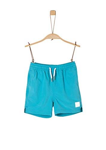 s.Oliver Junior Jungen 404.12.004.24.265.2040915 Kids Boys Badehose, 6236 Caribbean sea, 128 /REG
