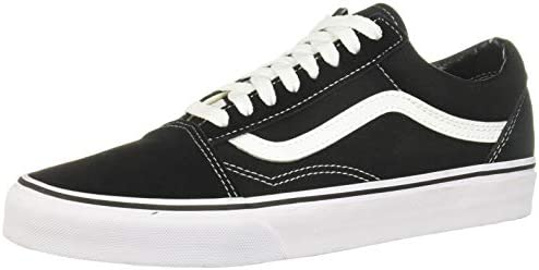 Vans Old Skool Unisex Adults Low Top Trainers Black White 13 product image