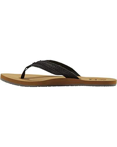 Billabong Women's Kai Flip Flop, Black, 7 Regular US
