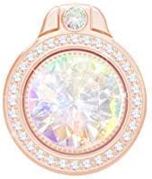 Glitter Bling Bling Phone Ring Holder,Sparkle Phone Ring Artificial Diamond Stand,Rhinestone Cell Phone Finger Ring for Phones,Pad(Rose Gold)