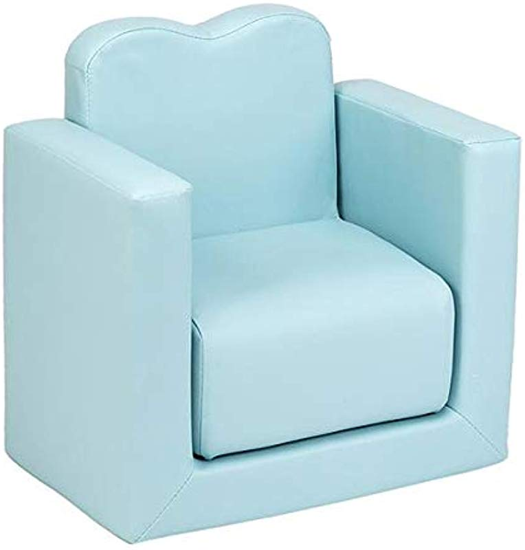 Multi Function Kids Sofa Childern Sofa Toddler Table And Chair Set Blue