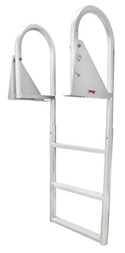 Extreme Max 3005.3470 Flip-Up Dock Ladder - 3-Step