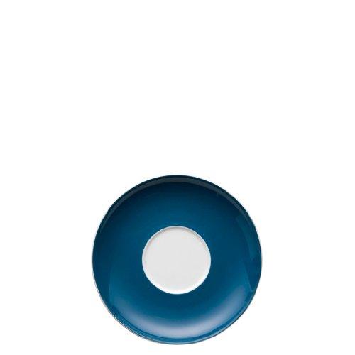 Thomas Rosenthal Sunny Day Cappuccino -/Jumbo-Untertasse Petrol - Blau Ø 16,5 cm