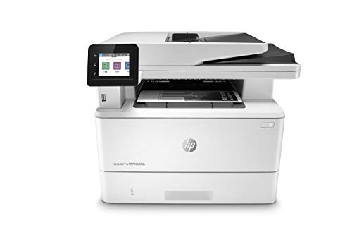 HP LaserJet Pro M428fdn Multifunktions-Laserdrucker (Drucker, Scanner, Kopierer, Fax, LAN, Duplex, Airprint) weiß