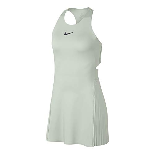 NIKE Maria W NKCT Dress LN - Vestido, Mujer, Multicolor(Light Silver/Gridiron)