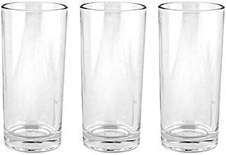 Royalford Glass Tumbler Set, 3 Pcs