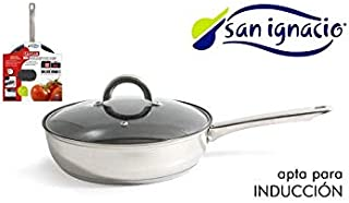 San ignacio - Sarten antiadherente con tapa 20cm