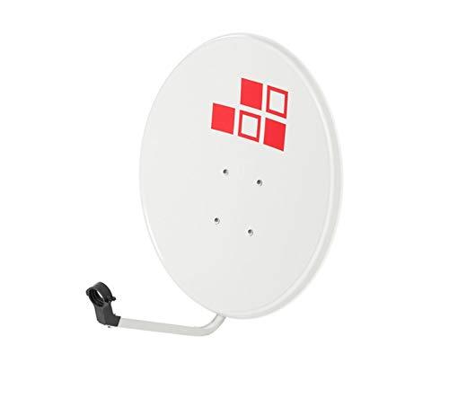 Diesl.com - Kit Antena parabolicas de Television satelite Astra Digital - 60cm + LNB Single 4k + Soporte SP30
