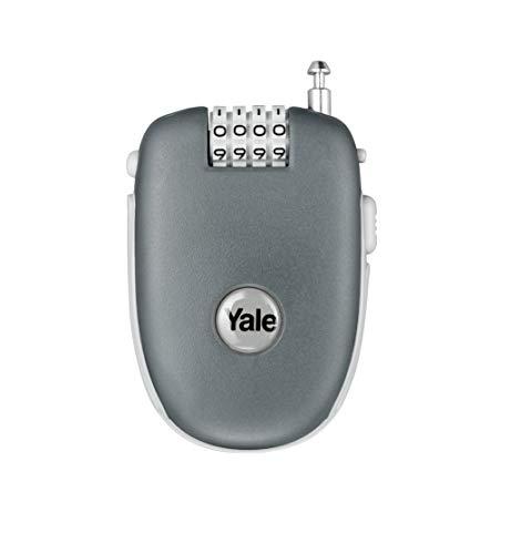Yale - Candado retráctil para equipaje (90 cm, 4 dígitos)