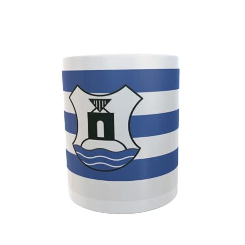 U24 Tasse Kaffeebecher Mug Cup Flagge Norderney mit Wappen