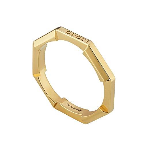 GUCCI Anillo de oro LINK TO LOVE talla 16 YBC662194001016