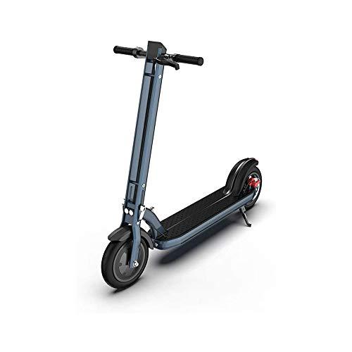 """LKNJLL Scooter eléctrico - hasta 18mph, 8"""" Tire, 250W sin escobillas Cubo del Motor, 21 Libras de Peso Ligero, antitraqueteo Plegable de Aluminio Scooter eléctrico for Adultos"""