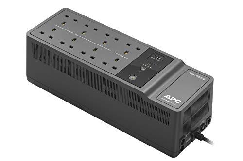 APC BACK-UPS ES - BE650G2-UK - Uninterruptible Power Supply 650VA (8 Outlets,...