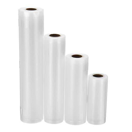 RanDal 500Cm Rolls Food Vacuum Bag Seal Für Vakuumierer Aufbewahrungsbeutel Food Saver - 12 * 500Cm
