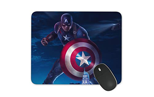 JNKPOAI All Kinds of Mouse Pads Marvel Animation Mouse Pad Office Anti-Slip Game Mouse Pad Captain America Mouse Pad (Captain America)