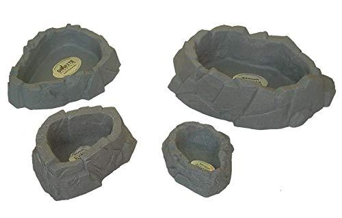 Granite Mountain 45061 - Ciotola per acque XL/RBXL1, per terrari e rettili, XL