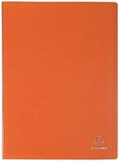 Cartellina a spirale 20 buste A4 arancione pastello