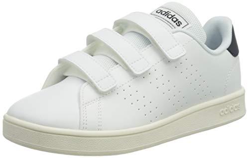 Adidas Advantage C, Zapatos de Tenis, FTWR White/Legend Ink/Cloud White, 34 EU