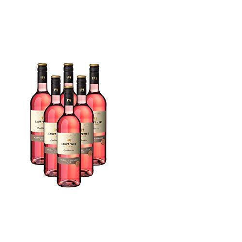 Lauffener Weingärtner Muskattrollinger Rosé QbA Halbtrocken (6 x 0.75 l)