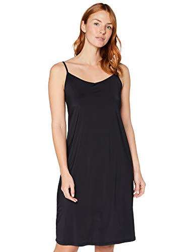 Iris & Lilly Damen Unterkleid, Schwarz (Black), M, Label: M