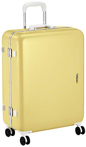 [サンコー] SERIES-R スーツケース セリエス 静音双輪キャスター ステッカー付 キャスターカバー付 59L 59 cm 4.8kg イエロー