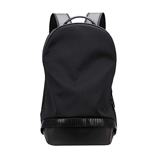 Casual Street Einfachen Rucksack Männer Reisen Lässige Mode Computer Tasche Business Outdoor Rucksack Mit Großer Kapazität Schwarz 30 * 19 * 48Cm