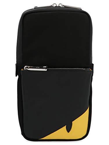 Luxury Fashion | Fendi Heren 7VZ033A9ZBF0R2A Zwart Polyamide Rugzak | Lente-zomer 20