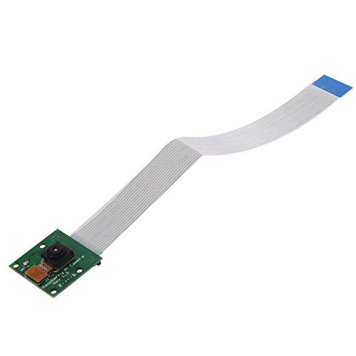 Vaorwne Camera Scheda del Modulo 5Mp Webcam Video 1080P 720P per Raspberry Pi 3 Verde