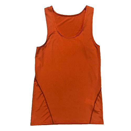 U/A Herren Training Tank Top Basketball Fitness Gr. M, Orange