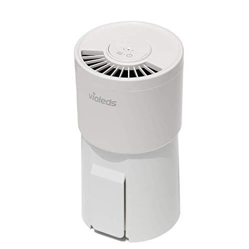 Violeds Vac - 2 en 1, Purificador de Aire con Sistema UV LED - Elimina bacterias y Virus del Aire con un 99,99% de Potencia de filtrado