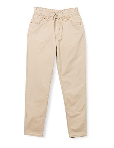Levi's Kids LVG HIGH LOOSE TAPER JEANS C881 Pantaloni Bambina White Pepper 12 anni