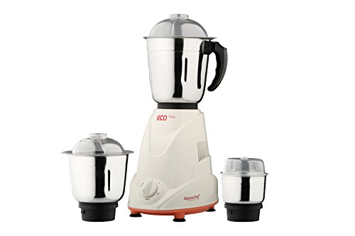 Signora Care Eco Matic 550-Watt Mixer Grinder with 3 Jars