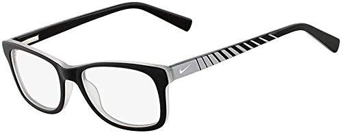 Nike Herren 5509 018 46 Brillengestelle, Schwarz (Satin Black/Grey)