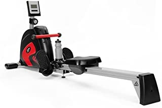 GENKI Rowing Machine 15 Adjustable Resistance Levels Full Body Fitness Machine Magnetic Folding Home Training Workout Rower Equipment