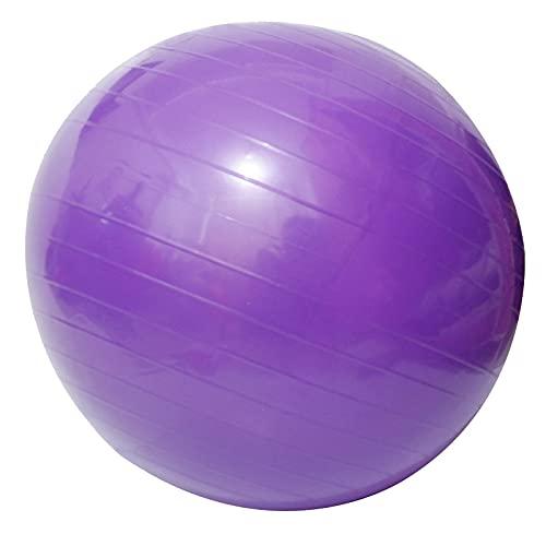 WNAVX Pilates inflables Pelota Ejercicios de la Bola de Fitness de Yoga 45 55 65 75cm Balance Sport Globos (Color : Blue 75cm)