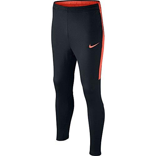 Nike Dry Fit Academy, Pantalones de Fútbol, Negro  (Negro/Negro /Turf Orange/Turf Orange), XS