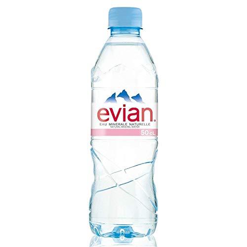 Evian Natural Mineral Water 500ml x 24 Bottles
