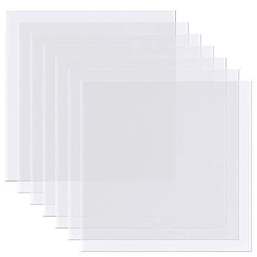 Meetory 15 fogli di stencil vuoti, 4 Mil 30,5 x 30,5 cm...