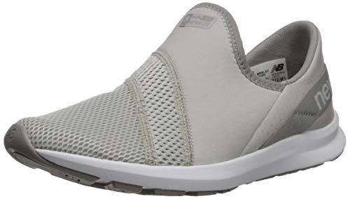 New Balance Women's Nrgize V1 FuelCore Easy Slip-On Sneaker, Summer Fog/RAIN Cloud, 8.5 M US