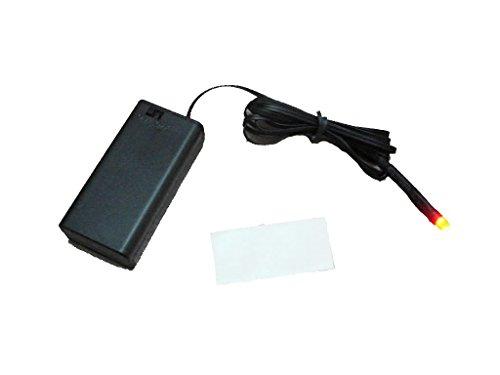 D-yun - Alarma falsa de coche para bicicleta, sin cables, solo flash